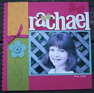 Rachael scrap