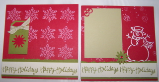 "Christmas 6""x6"" Swap"
