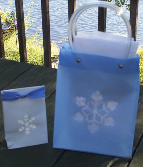 Snowflake bags