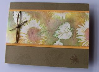 Serene Sunflower Batik